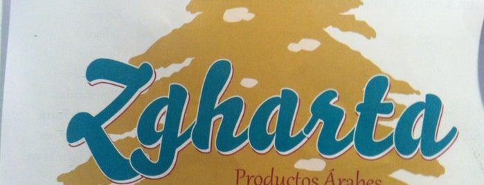 """Zgharta"" (Productos Árabes) is one of Tempat yang Disukai Beno."