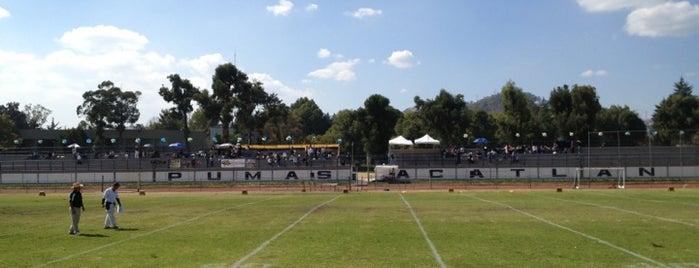 Estadio Pumas FES Acatlán is one of Orte, die Rafael gefallen.