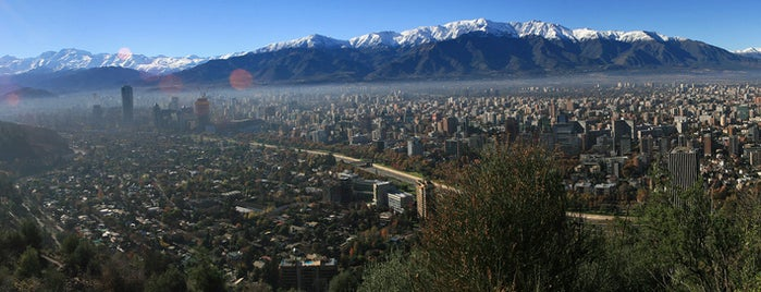 Parque Metropolitano de Santiago is one of Santiago, Chile.