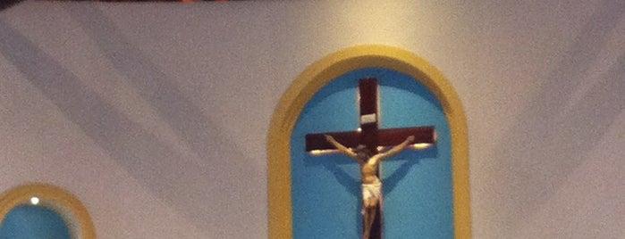 Paróquia Jesus, Maria E José is one of สถานที่ที่บันทึกไว้ของ Arquidiocese de Fortaleza.