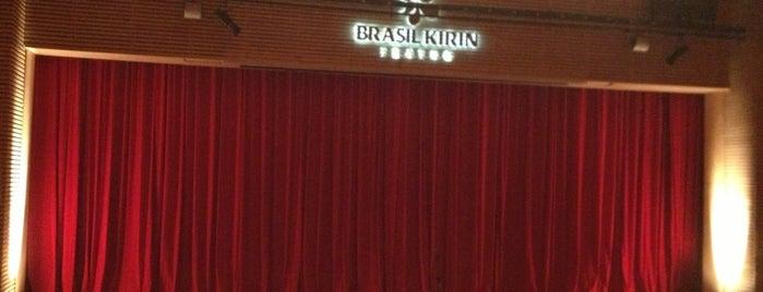 Teatro Iguatemi Campinas is one of Tempat yang Disukai Fabiane.
