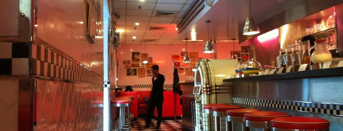 The All American Diner is one of Delhi.