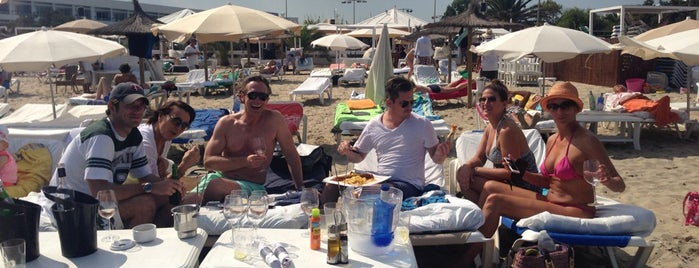 Coco beach is one of Ibiza, Spain.