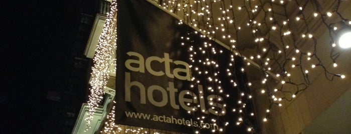 Hotel Acta Atrium Palace is one of Wifi cafes BCN.