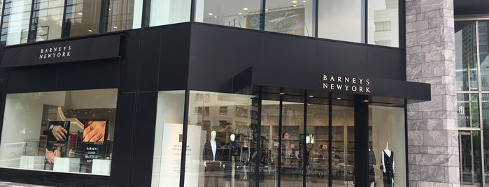 Barneys New York is one of Tokyo shopping.
