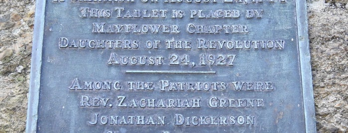Patriot Rock is one of Culper Spy Day.