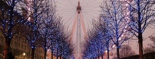 The London Eye is one of Best UK #PhotoSpots.