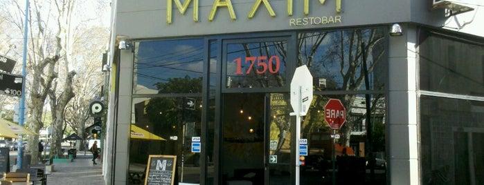 Maxim Resto Bar is one of Terrazas/Aire libre/Patio.
