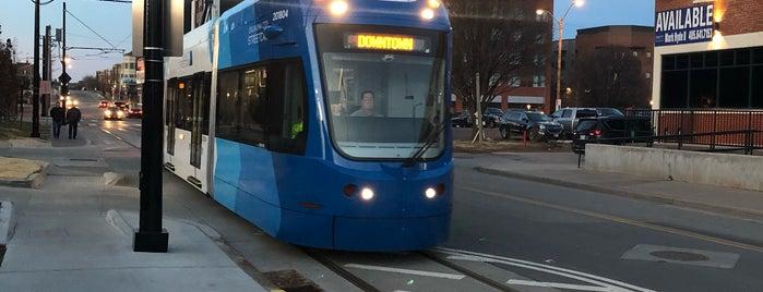 OKC Streetcar - East Bricktown is one of Transit: OKC Streetcar 🚊.