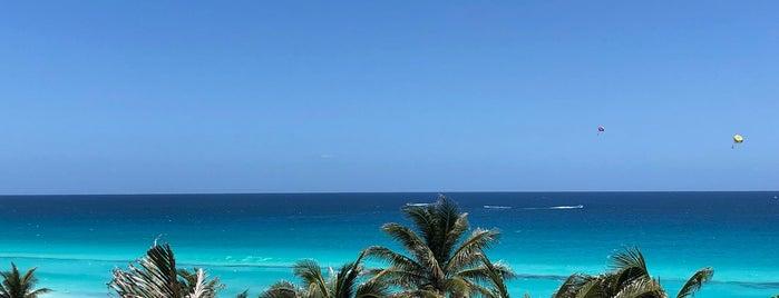 Marriott Cancun Resort is one of สถานที่ที่ Nataly ถูกใจ.
