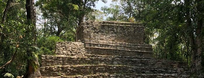 Zona Arqueológica Muyil is one of Tulum.