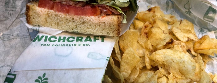'Wichcraft - Garment District is one of Tempat yang Disukai Christina.