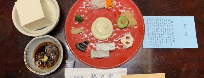 笹乃雪 is one of Tokyo (FOOD and DRINKS).