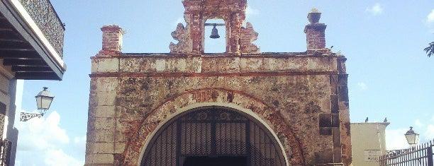 CAPILLA DEL SANTO CRISTO DE LA SALUD is one of Puerto Rico.