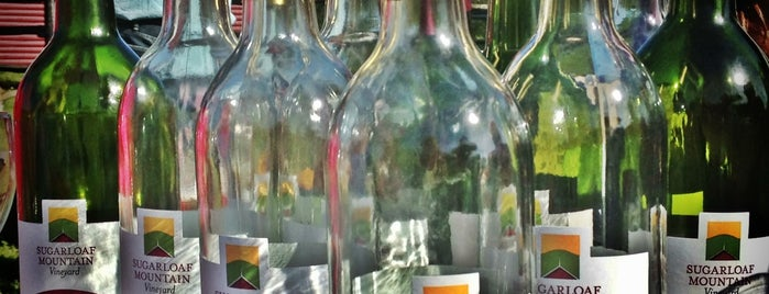 Sugarloaf Mountain Vineyard is one of Food & Drink.