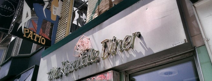 The Rosedale Diner is one of Toronto Spots.