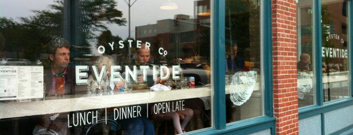 Eventide Oyster Co. is one of Cocktail spots in Portland Maine.