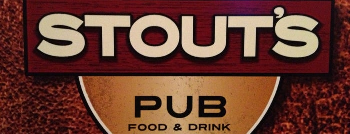 Stout's Pub is one of Beth 님이 저장한 장소.