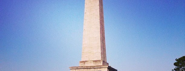 The Wellington Testimonial (The Obelisk) is one of สถานที่ที่ Carl ถูกใจ.