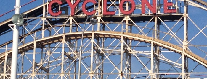 The Cyclone is one of New York City.