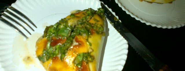 Chimichurri is one of Playa Del Carmen eats.