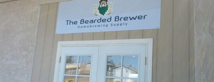 The Bearded Brewer Homebrewing Supply is one of DJ Lizzie : понравившиеся места.