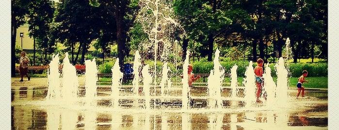 """Park """"Znicza"""" is one of Warsaw."""