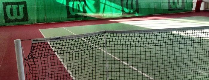 Теннисные корты FormStyle is one of Lieux qui ont plu à Алина.