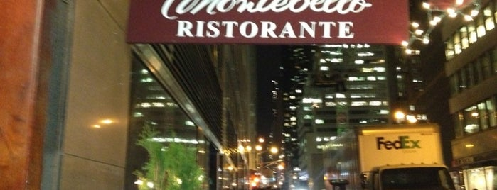 Montebello is one of NYC Restaurant Week Downtown.