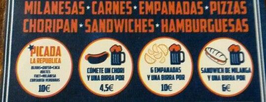 La República is one of Cheap Eats Barcelona 5-10€.