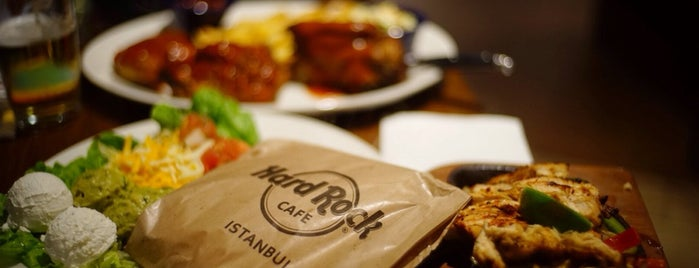 Hard Rock Cafe Istanbul is one of Free Wi-Fi in Istanbul.