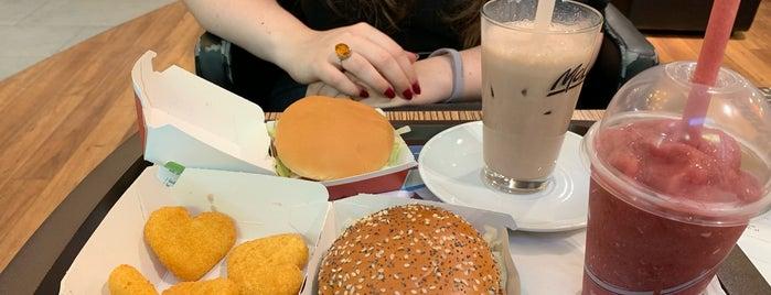 McDonald's is one of Lieux qui ont plu à Saba.