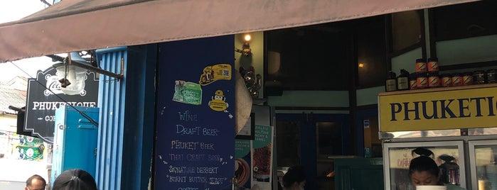 Phuketique Coffee Bar is one of THAI_2017.