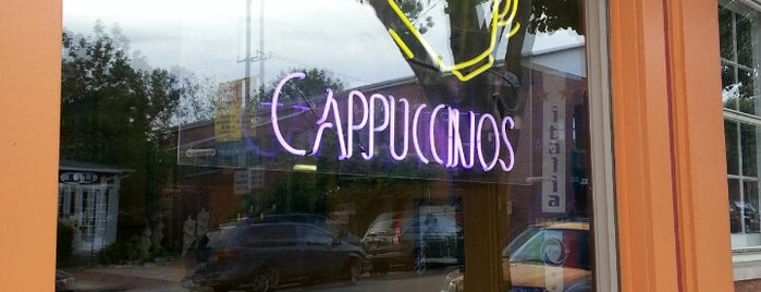 Dino's Cappuccinos is one of Yellow Springs.