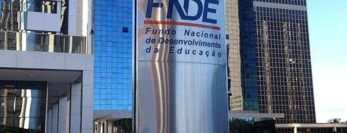 FNDE - Fundo Nacional de Desenvolvimento da Educação is one of Juliana : понравившиеся места.