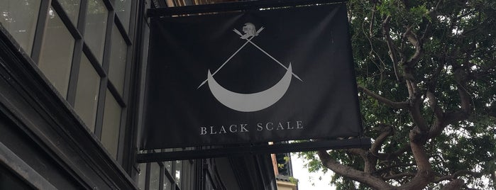 Black Scale is one of SF Streetwear.