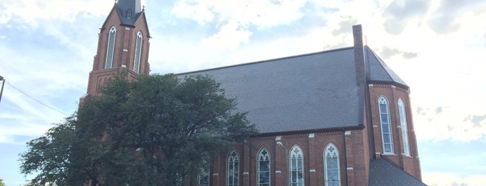 St Columba Catholic Church is one of Illinois's Greatest Places AIA.