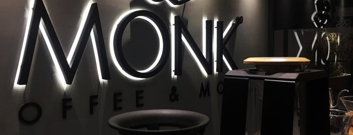 Monk Coffee & More is one of Lieux qui ont plu à Ruveyda.