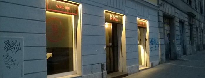 Kiko sushi bar is one of Italy.