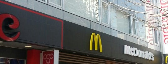 McDonald's is one of Orte, die Yeva gefallen.