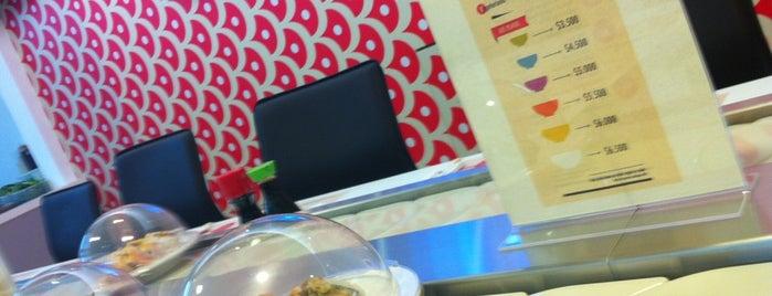 Sushi Rail is one of Lugares favoritos de Daniel.