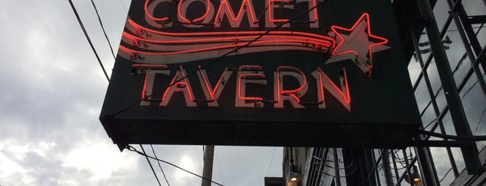Comet Tavern is one of We 💙 Seattle.