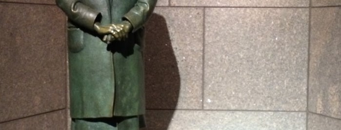 Eleanor Roosevelt Memorial is one of BEST OF: Washington D.C.