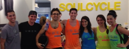 SoulCycle Williamsburg is one of #BKLOVESuberX.