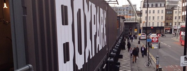 BOXPARK Shoreditch is one of UK.