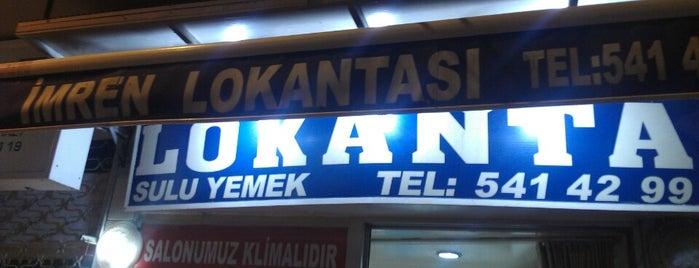 İmren Lokantası is one of Best IST.