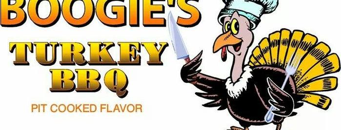 Boogie's Turkey BBQ is one of BBQ.