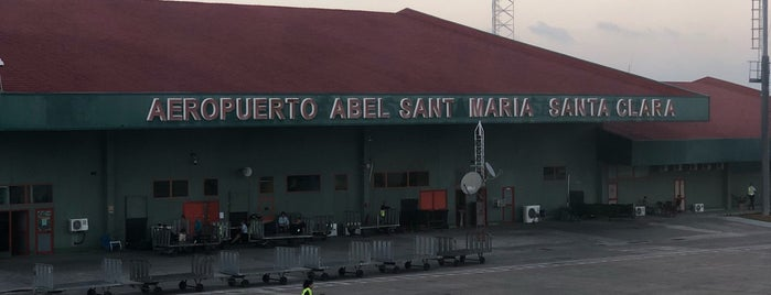 Aeropuerto Abel Santamaría (SNU) is one of Kuba.