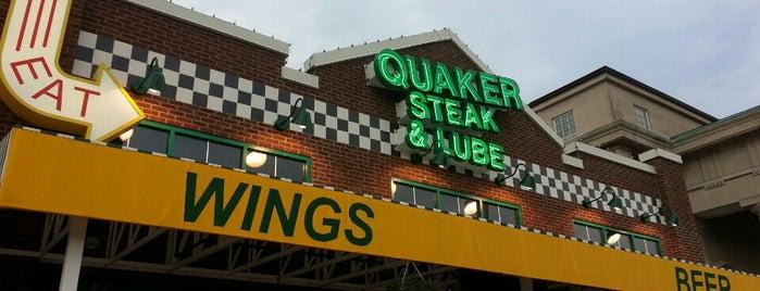 Quaker Steak & Lube is one of Posti che sono piaciuti a Dave.