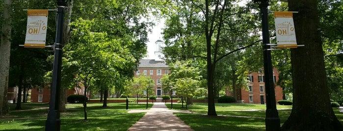 Image of College Green on Ohio University Campus